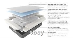 OTTY Hybrid Pocket Sprung Memory Foam Mattress