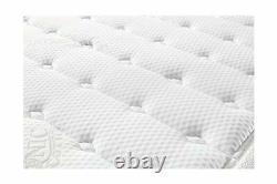 Oliver Smith Cool Memory Foam Pocket Spring Mattress Organic Cotton 12 Full New