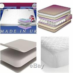 Orthopaedic QUILTED Pocket spring Memory Foam Mattress 140x70x14cm BABY TODDLER
