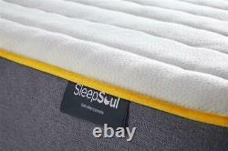 Ottoman Storage Single Double & King Size Fabric Bed Memory Foam Mattress Option