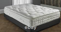 Pillow Top 5000 Pocket Sprung Mattress 4ft 6 double 5ft king size 6ft super king