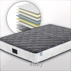 Pocket Spring Mattress Soft Fabric with Gel Memory Foam for comfort
