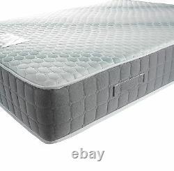 Pocket Sprung Mattress 3000 Memory Foam Double King Super King Hyder Platinum