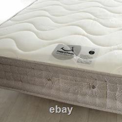 Pocket Sprung Mattress, Bamboo 1500 Memory and Reflex Foam Medium 6 UK Sizes