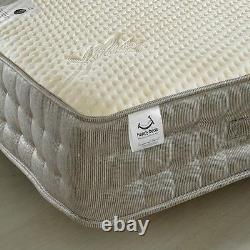 Pocket Sprung Mattress, Bamboo 2000 Memory and Reflex Foam Medium Firm 4ft
