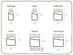 Pocket Sprung Memory Foam Mattress Tufted Santorini 3000 3ft, 4ft, 4ft6,5ft