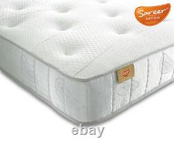 Pocket Sprung with Memory Foam Mattress Hypo Allergenic Fillings All Sizes