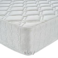 Quality 3000 Pocket Sprung Mattress 3ft 4ft6 Single Double King Size 10 in depth