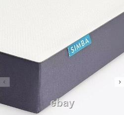 SIMBA Hybrid Memory Foam Pocket Spring Mattress, Medium, Superking