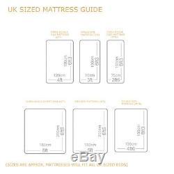 Santorini Pocket Sprung Memory Foam Mattress, 3ft, 4ft, 4ft6, 5ft, 6ft