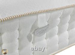 Sareer Gel Latex 5000 Pocket Sprung Memory Foam Mattress Various Sizes