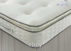 Sealy 1400 Pocket Sprung Memory Pillowtop Superking Mattress
