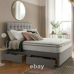 Silentnight 1200 Pocket Memory Cushion Top Mattress in 4 SizesFREE DELIVERY