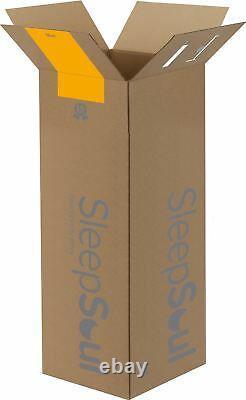 Sleep Soul Balance Double 135cm 4FT6 Mattress Pocket Sprung Memory Foam