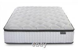 Sleepsoul Bliss Mattress, 800 Pocket Springs, 2cm of Memory Foam, 3ft, 4ft, 4ft6 5ft