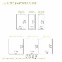 Suede Memory Foam Divan Bed Set With Pocket Mattress Headboard 3ft 4ft6 5ftking