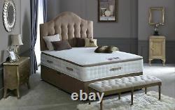Windsor 3000 Pocket Sprung Pillow Top Memory Foam Wool Mattress