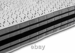 1500 Pocket Sprung Mattress 3d Air Flow Cashmere Tufted Memory Foam Matelas