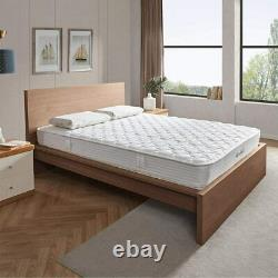 2000 5ft King Size Pocket Sprung Matelas 21 CM Bed Memory Mousse 7 Zoned Support
