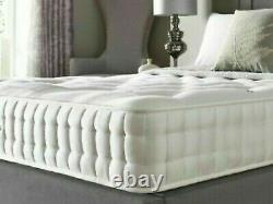 25000 Mâché De Luxe Mousse Sprung Sprung Matelas Simple Double King Tous Confortable Tout Le Confort
