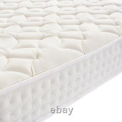 3000 Confortable Pocket Sprung Memory Foam Matelas Single Double Modern Design