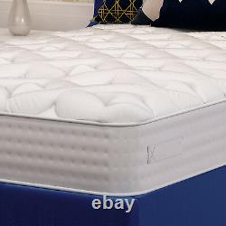 3000 Memory Foam Pocket Sprung Matelas, 3ft 4ft 4ft6 Double 5ft King Size