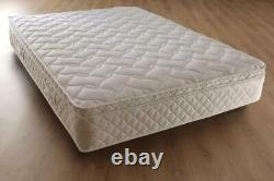 3000 Memory Pocket Sprung Pillow Top Matelas, 3ft 4ft6 Double 5ft King Size