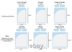 3800 Hybrid All Comforts Memory Foam Pocket Sprung Mattress Single Double King