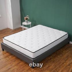 4000 Pocket Spring Memory Mattress Luxury Damask Hypo 3ft 4ft 4ft6 5ft 8 Pouces