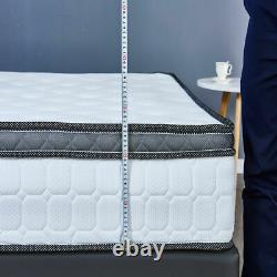 4000 Pocket Sprung 10 Cool Blue Mousse Matelas 3ft 4ft 4ft6 5ft