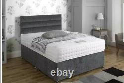 5ft King Size 2000 Pocket Spring Memory Foam Tencel Luxury Mattress Sale 50% Nouveau