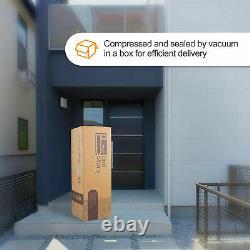 Bedstory 10in Pocket Mémoire Mousse Matelas Unique 3d Bamboo Fiber Cover