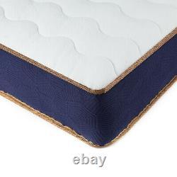 Bedstory 22cm Pocket Spring 4ft6 Double Matelas Mémoire Mousse Matelas Orthopédique
