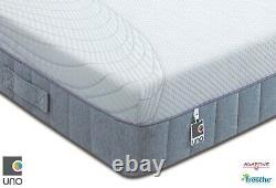 Breasley Uno 1000 Pocket Sprung Memory Foam Matelas De Différentes Tailles