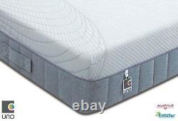 Breasley Uno 2000 Pocket Sprung Memory Foam Matelas De Différentes Tailles