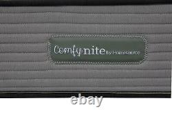 Comfynite Mémoire Mousse Matelas King Taille 5ft Pocket Sprung Quilted 27cm Deep
