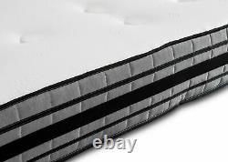 Deluxe Memory Foam 1500 Pocket Sprung Medium Single King Size Matelas