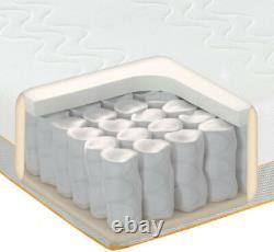Dormeo Memory Foam Pocket Sprung Double Size Mattress 4ft6 Lit Matress 135x190cm