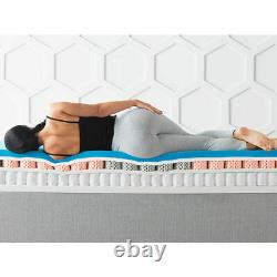 Dormeo Octasmart Hybrid Mattress, Memory Foam & Pocket Springs, Luxe, 4 Tailles