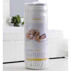 Dormeo Options Hybrid Mattress Double, Memory Foam / Pocket Spring, Moyenne Entreprise
