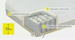 Dormeo Options Hybrid Mattress Memory Foam & Pocket Springs Medium/firm Double