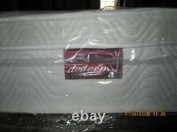 Dosleeps King Size Mattress 9-zone Pocket Sprung Mattress Memory Foam Orthopaedi
