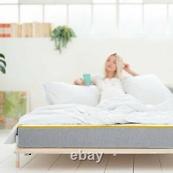Eve Sleep Hybrid 650 Pocket Springs Anti Allergie Medium Firm Matelas Unique
