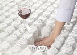 Evo Hand Tufted Memory Foam Pocket Matelas 3ft Single 4ft6 Double 5ft King 6ft