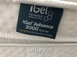 Igel Advance 3000 Plush Top Super Kingsize Matelas 3000 Pocket Spring Rrp £1999
