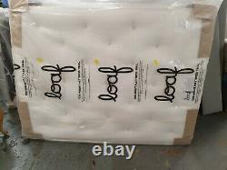 Loaf Muffin Top Firm 1800 Poche Latex Top Kingsize 150 X 200cm Matelas £845.00