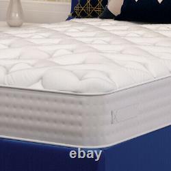 Luxe 3000 Mémoire Foam Pocket Sprung Matelas 3ft Single 4ft 4ft6 Double 5ft