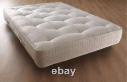 Luxe Damask Ortho Memory Pocket 3000 Sprung Mattress 3ft 4ft6 5ft King Size