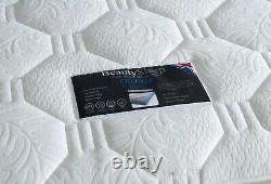 Matelas 3d De Luxe Celeste 4ft6 1500 Pocket Sprung Memoire Avec Lit Et Dessin