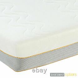 Matelas Hybride Dormeo Bed Maison Mémoire Mousse Double 4ft6 Pocket Medium/firm